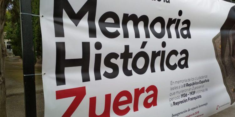 Memoria histórica en Zuera - Hay vida después de la oficina